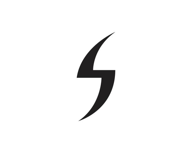 Flash thunderbolt modelo vector icon ilustração vector