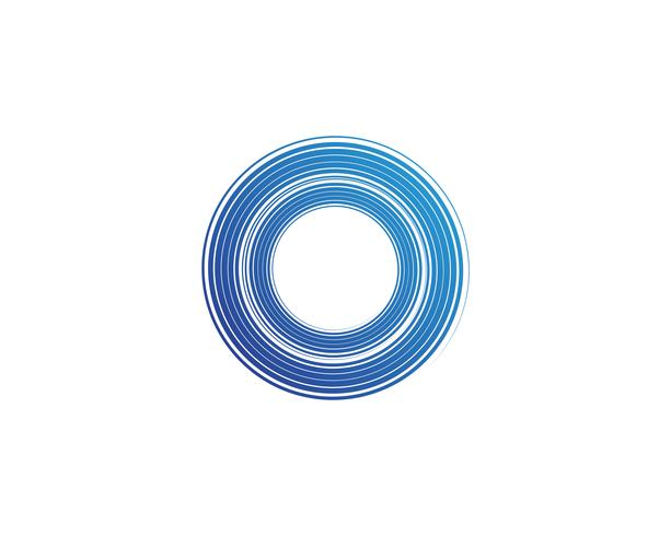 cerchio logo e simboli Vettori