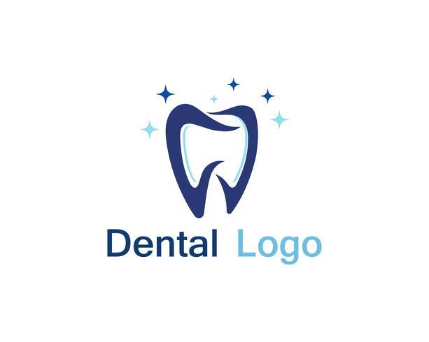 Dental care logo and symbol