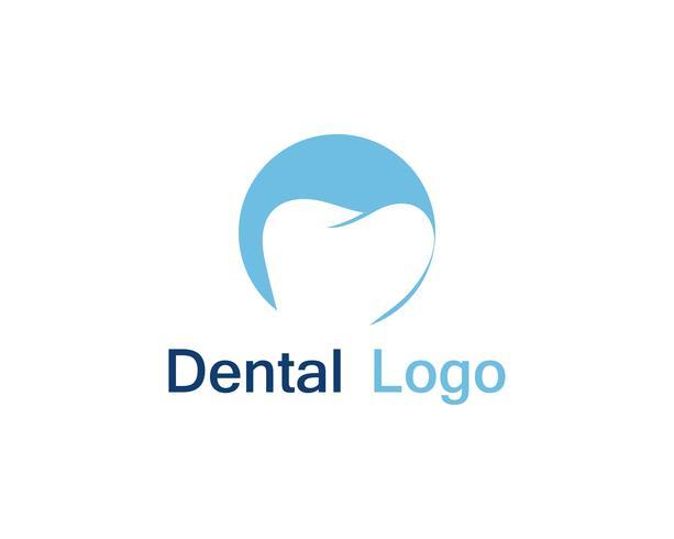 Logotipo e símbolo de atendimento odontológico