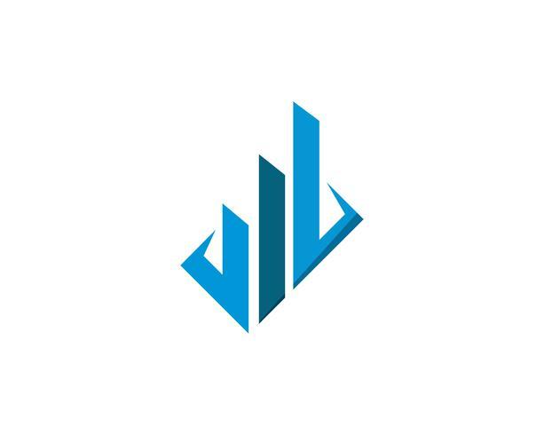 Diseño de logotipo de propiedad y construcción.