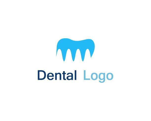 Logo et symbole des soins dentaires