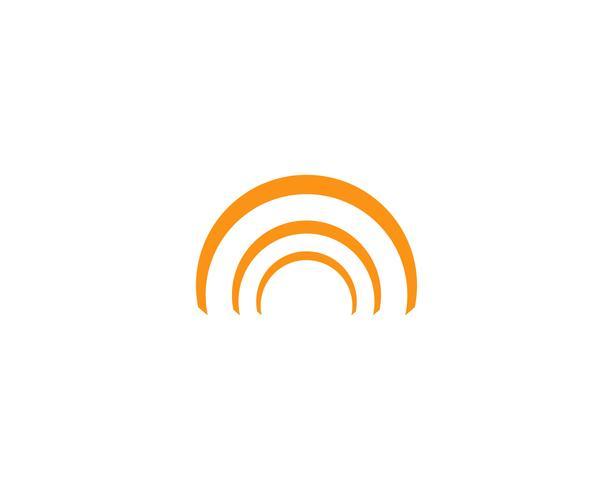 Kreis-Logo und Symbole