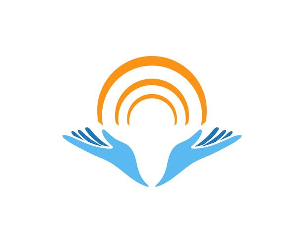 Handpflege-Logo und Symbole Vorlage Symbole