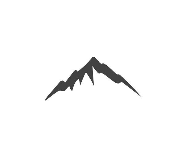 Modelo de negócios de logotipo de montanha