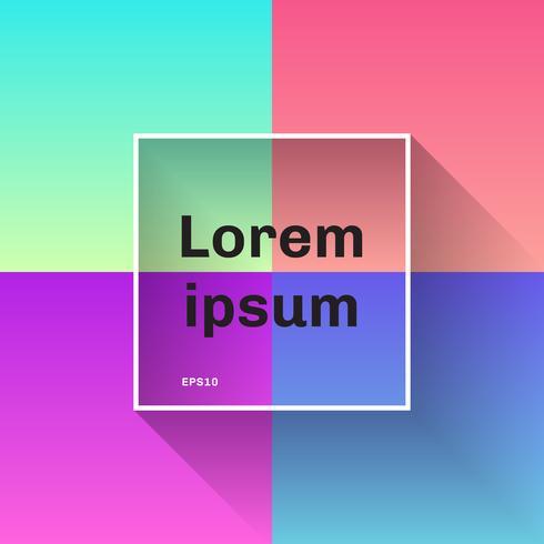 Satz der abstrakten bunten Steigung entwirft modischen Hintergrund. Sie können für Website und mobile Anwendungen, Template-Design, Social Media, modernen Stil verwenden.