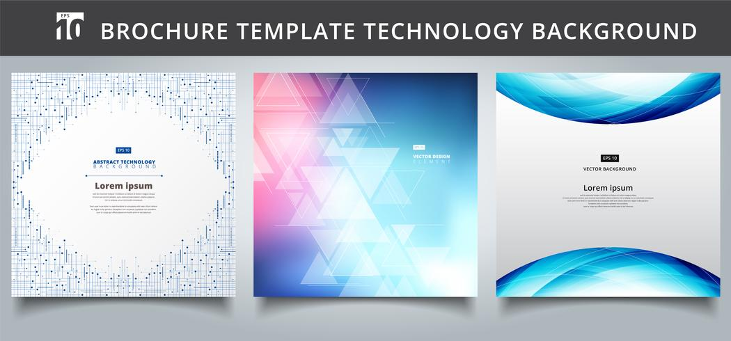 Set template technology covers design.