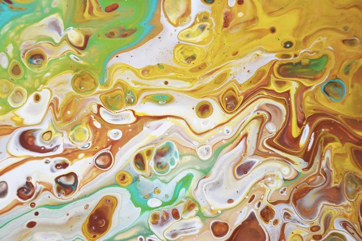 Textura de mármol. Fondo de mármol acrílico vector