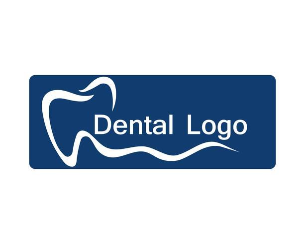 Tandvårdslogotyp och symbol