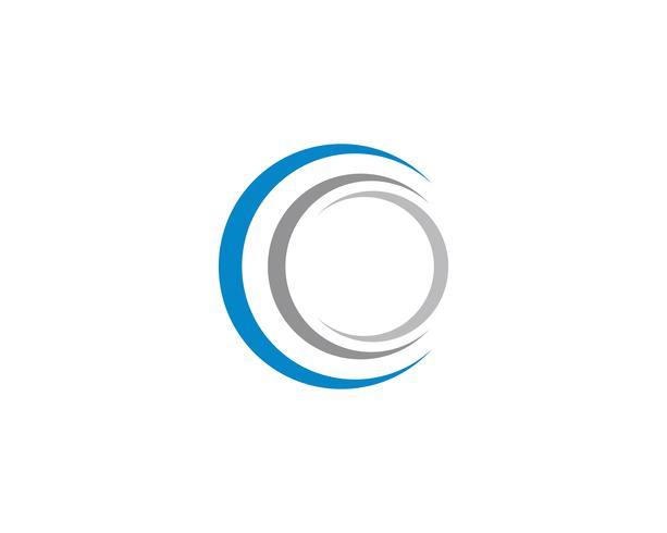 logo et symboles de cercle