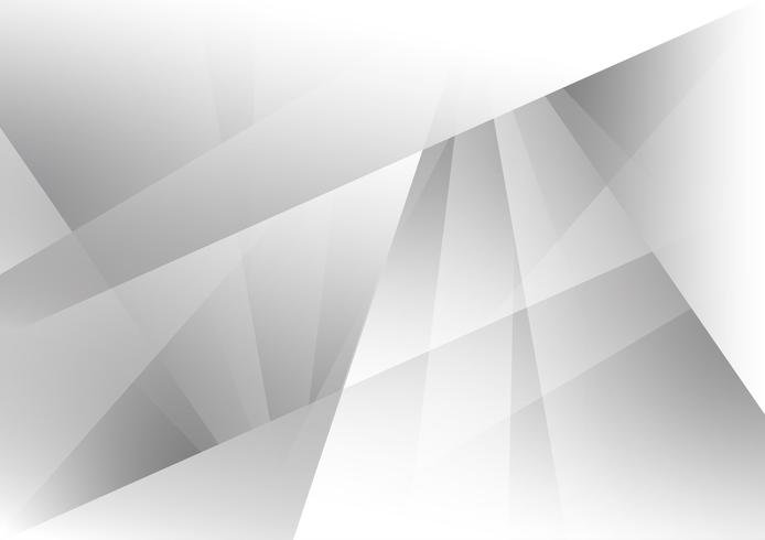 Grå och vit färg geometrisk modern design bakgrundsdesign, Vektor illustration för ditt företag