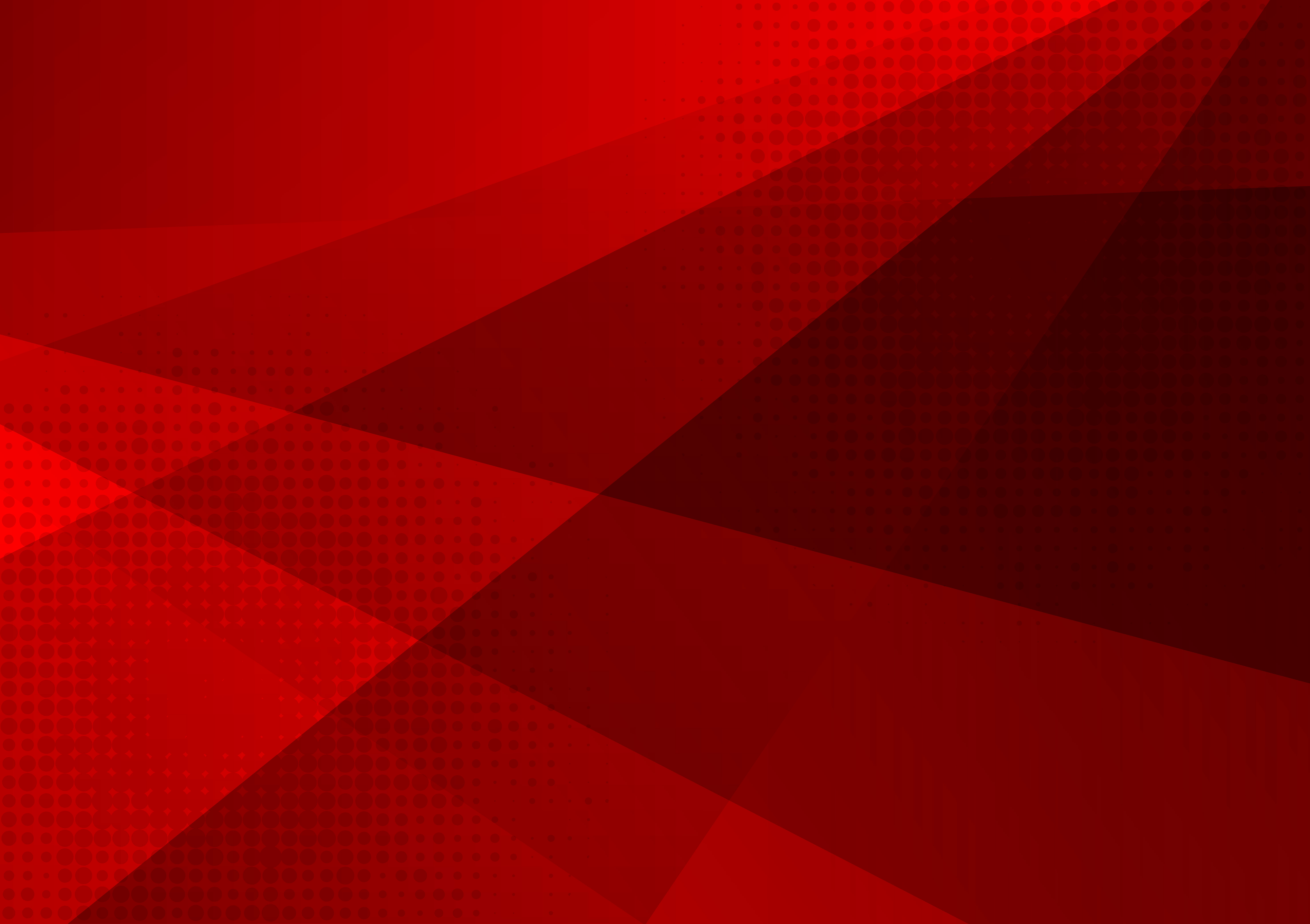 Red Color Geometric Abstract Background Modern Design