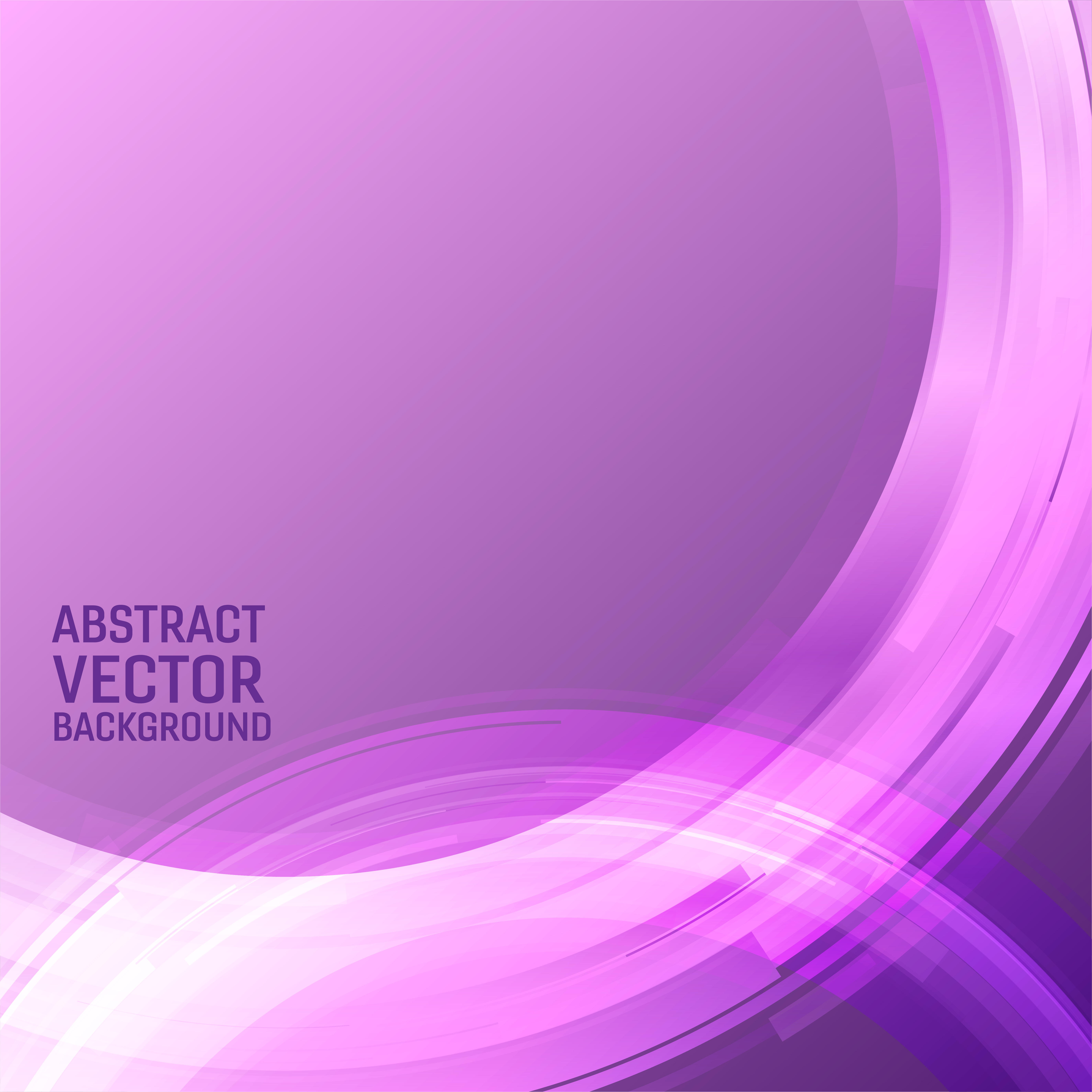Vector Geometric Light Purple Color Illustration Graphic