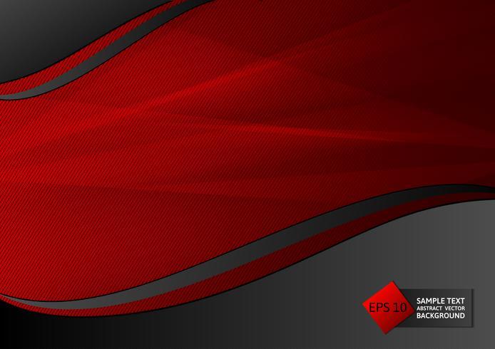 Nouveau design moderne de couleur rouge et noir géométrique abstrait design, illustration vectorielle eps10