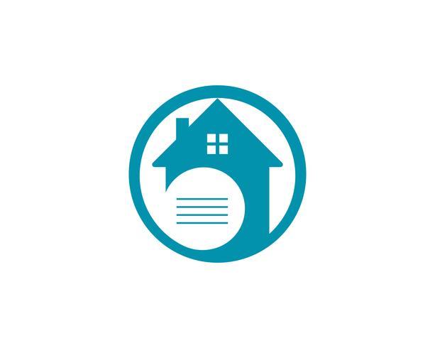 icônes de logo et symboles maison bâtiments