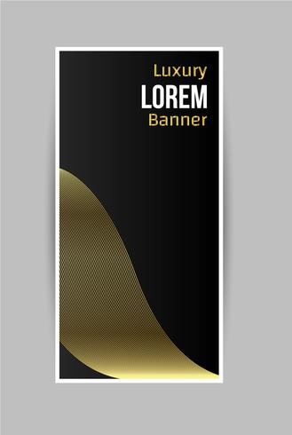 Abstract Luxury Banner Design