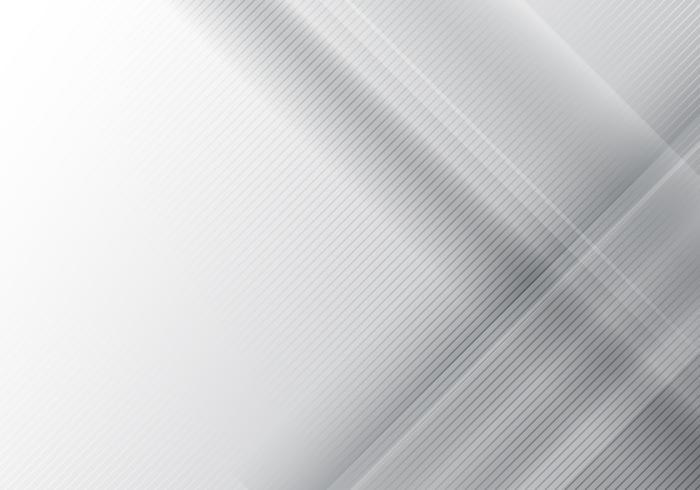 Abstracte grijze geometrische glans en laagelementen met diagonale lijnentextuur