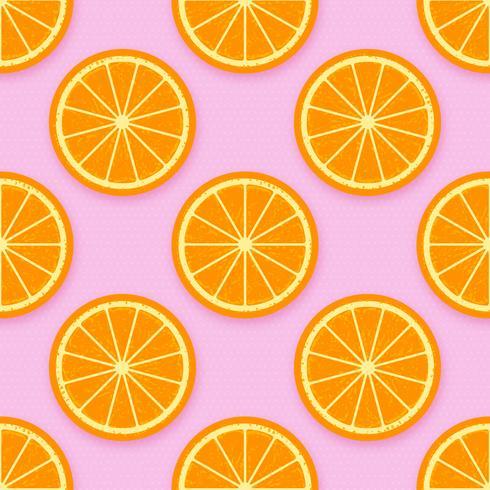 Orange schneidet Hintergrund-Vektor