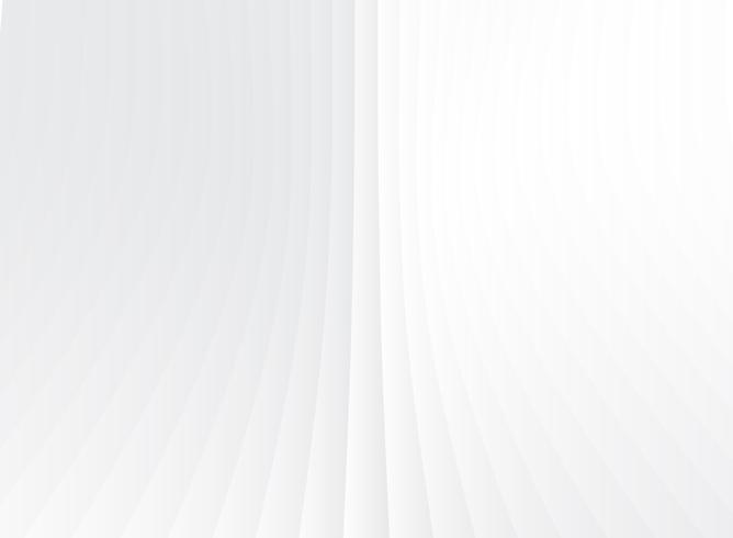 Abstract geometric perspective vertical lines white and gray gradient color background.