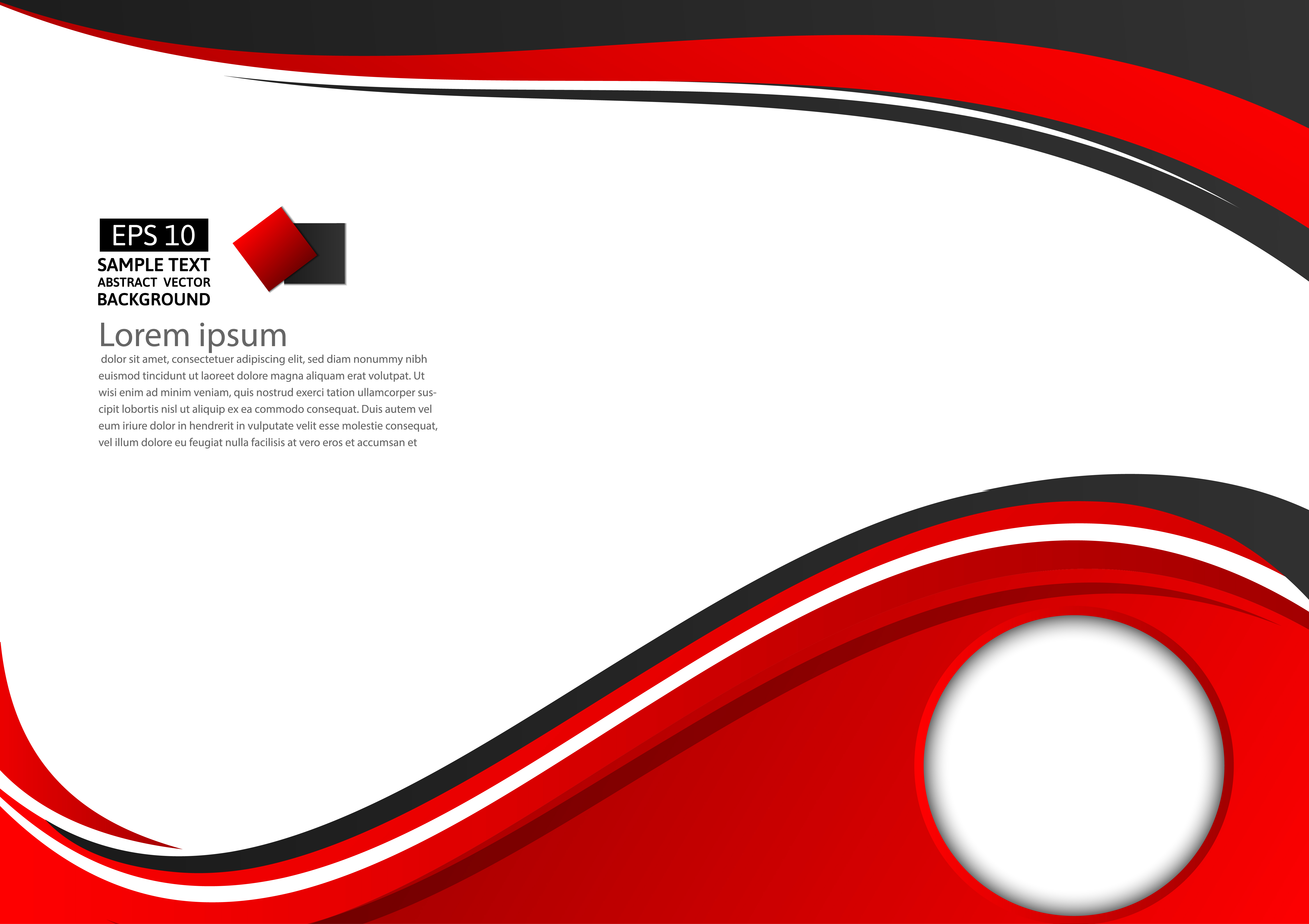 abstract red and black geometric on white background with copy space vector illustration download free vectors clipart graphics vector art vecteezy