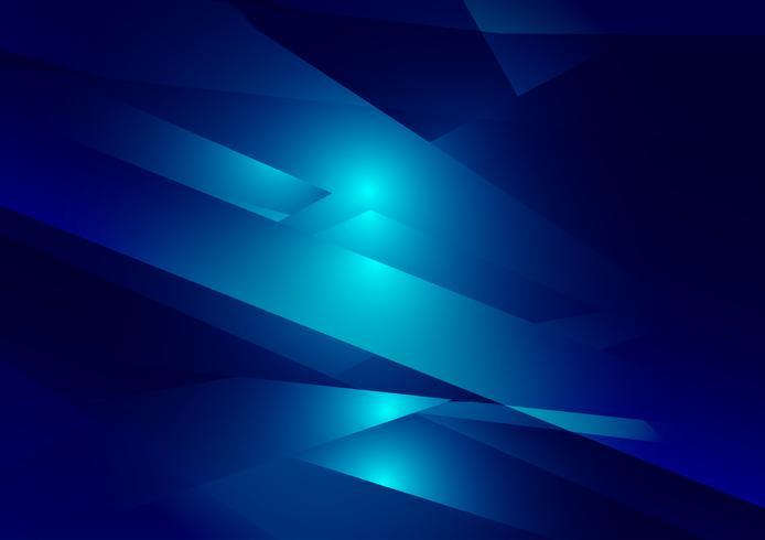 Blauwe de illustratie grafische vectorachtergrond van de kleuren geometrische gradiënt. Vector veelhoekige ontwerp voor uw zakelijke achtergrond
