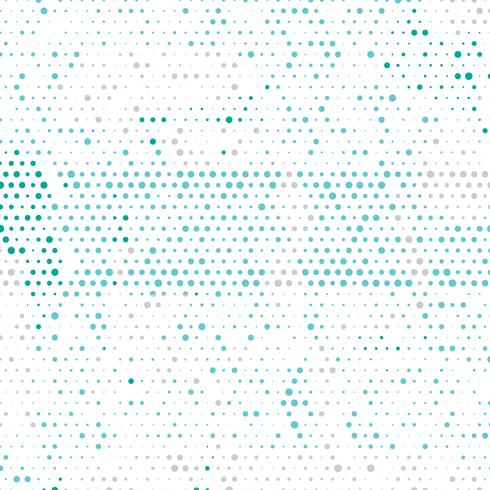 Flerfärgad vektor geometrisk cirkel abstrakt bakgrund. Prickad texturmall. Geometriskt mönster i halvtonsstil