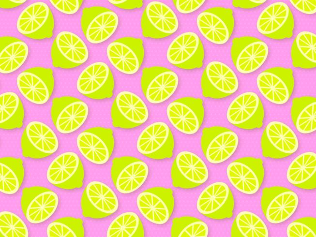 Trendy Lime zomer Pop achtergrond Vector