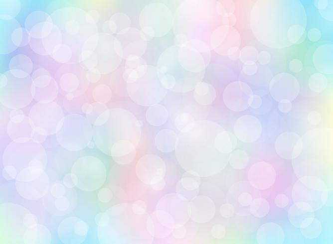 Abstract colorful blurred background with bokeh.