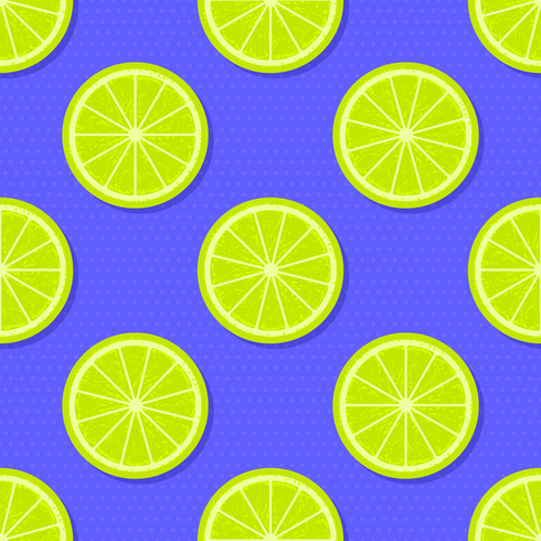 Fondo de verano de rodajas de limón