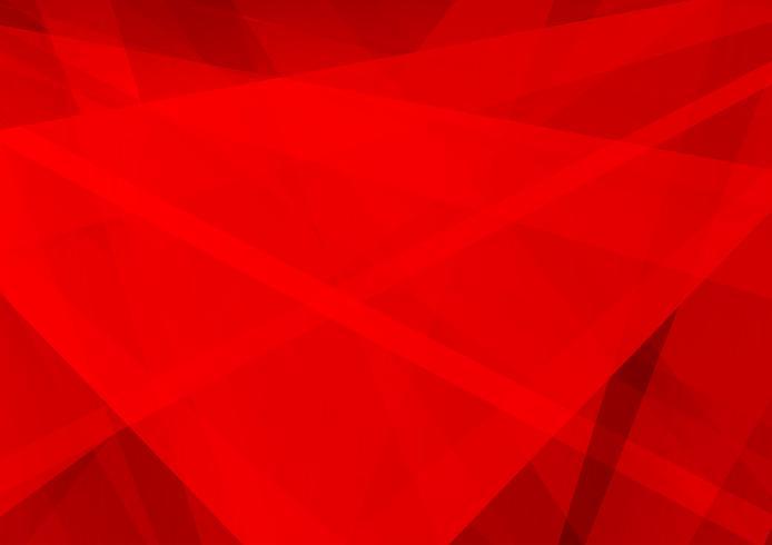 Diseño moderno de fondo rojo geométrico abstracto, ilustración vectorial vector