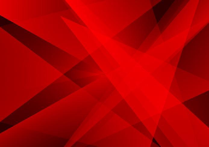 Rode kleuren geometrisch abstract modern ontwerp als achtergrond, Vectorillustratie voor uw zaken