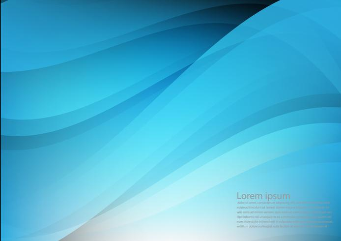 Blue color and light geometric gradient illustration texture abstract vector background