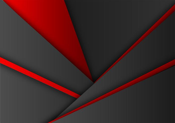 Vector red and black color geometric background. Abstract texture with copy space modern design