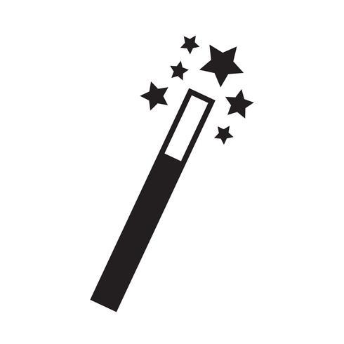 Magic Wand ikon vektor illustration