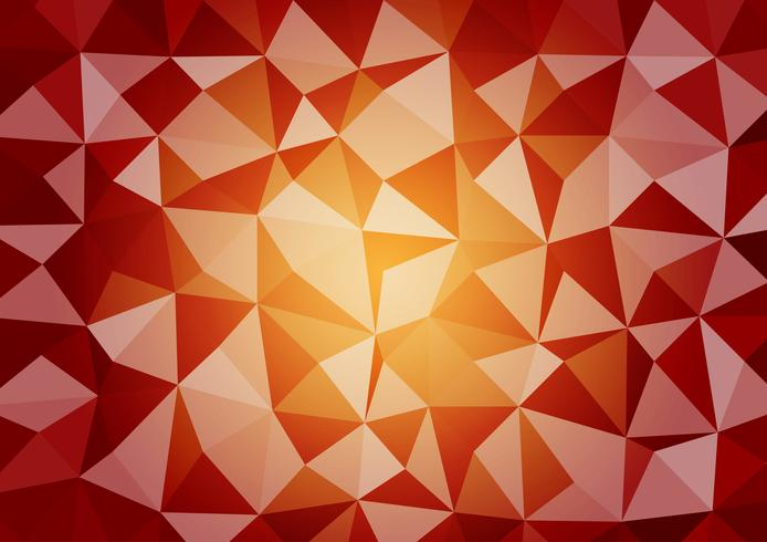 Multicolor geometric triangular style gradient illustration graphic vector background. Vector polygonal design for your business background.
