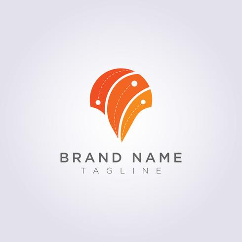 Design abstract destination symbol logos for your business or brand