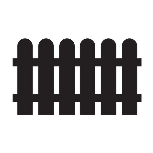 Fence icon vector illustration