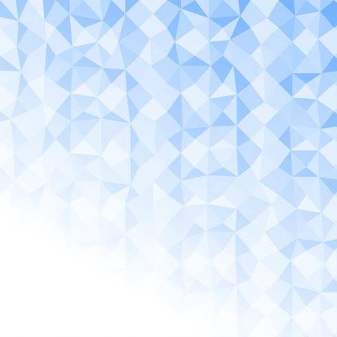 Light Blue Polygon Abstract Background Vector Texture