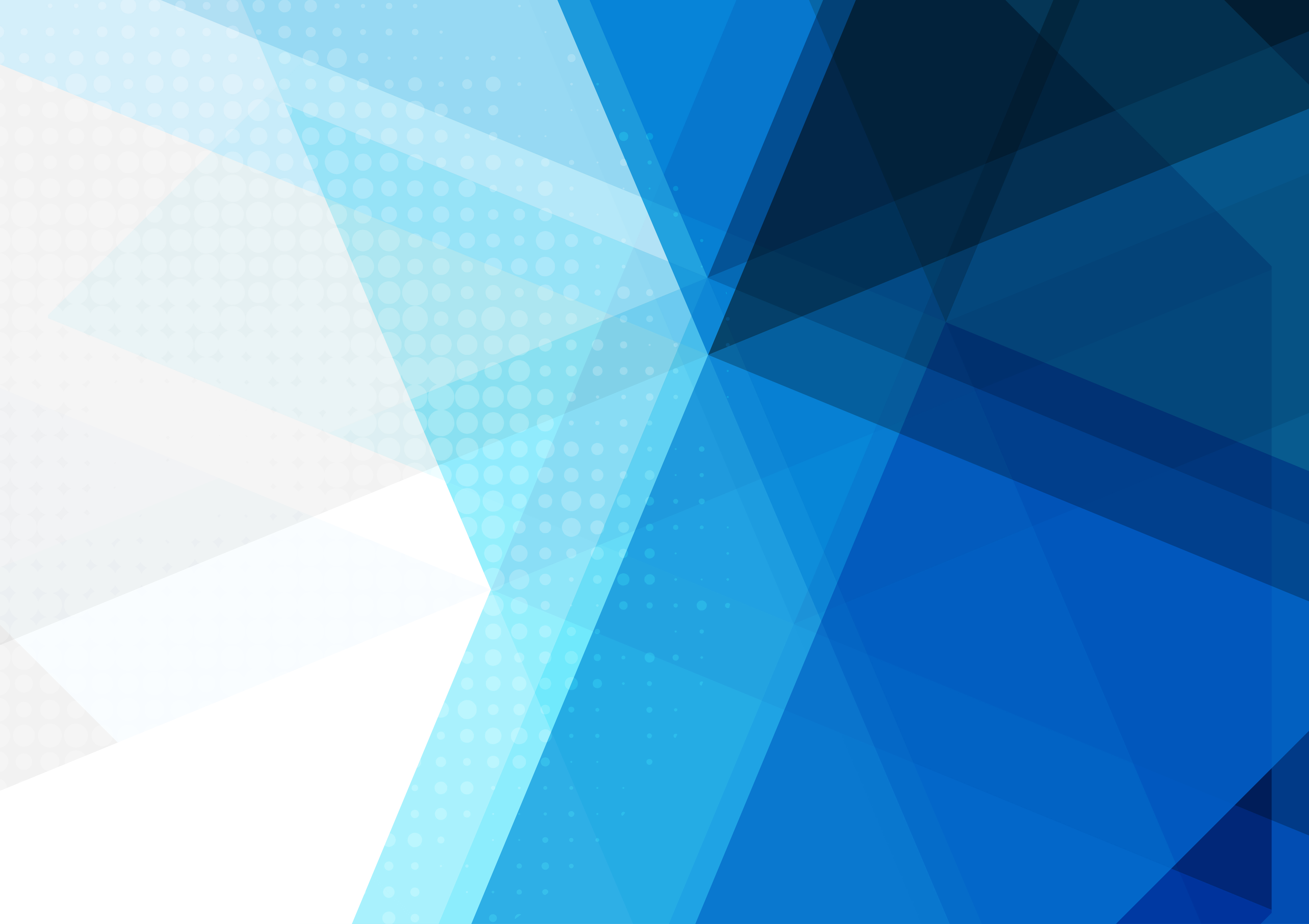 Blue abstract geometric background, Vector illustration ...