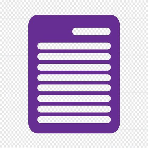 Clipboard ikon vektor illustration
