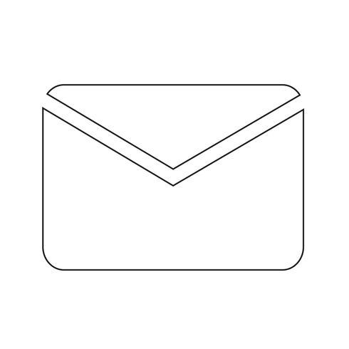e-mail icône illustration vectorielle
