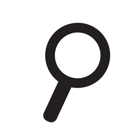Sök ikon vektor illustration
