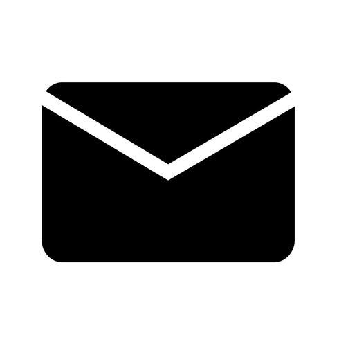 icono de correo electrónico ilustración vectorial