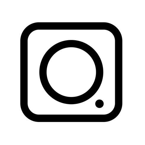 Tecken på kamerans ikon