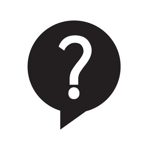 Question icon vector illustration