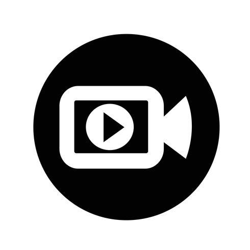 Bioscoop camera-icoontje