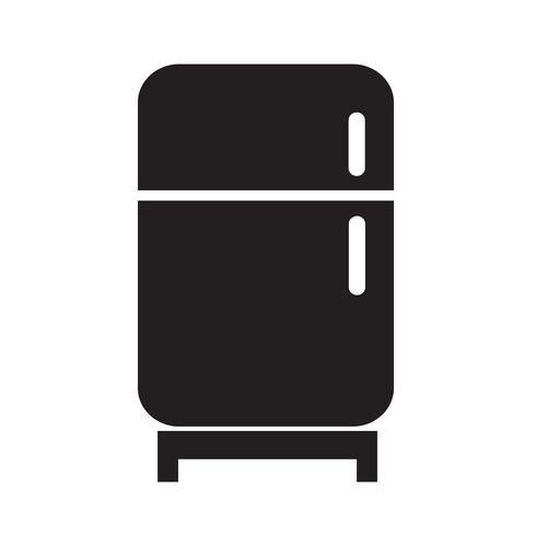 Icône de réfrigérateur Illustration vectorielle vecteur