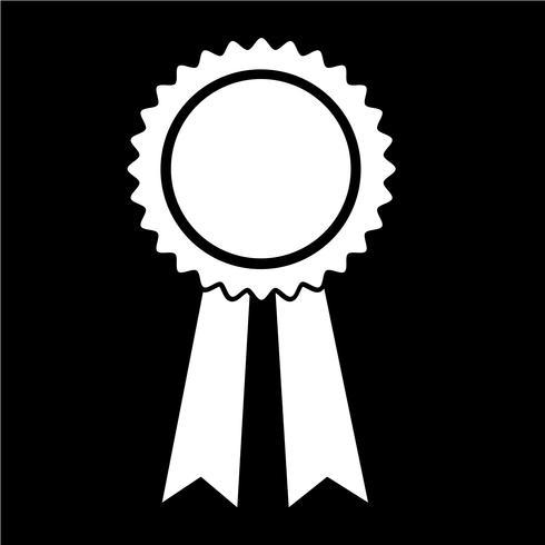 zwart lint pictogram vectorillustratie