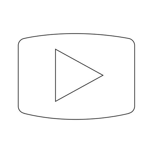 Jugar icono vector illustration