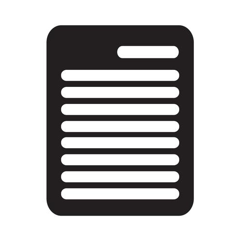 Klembord pictogram vectorillustratie